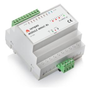 MINAC-8s, 8 230V AC outputs